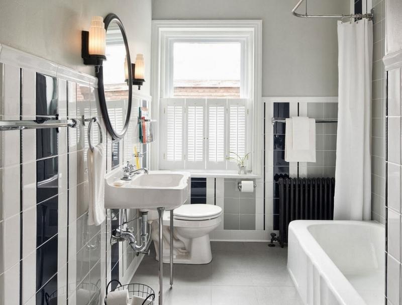ванная комната - стиль арт-деко 1