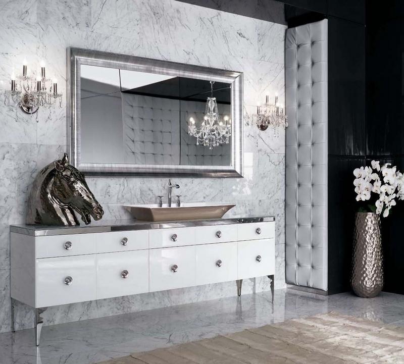 ванная комната - стиль арт-деко 2