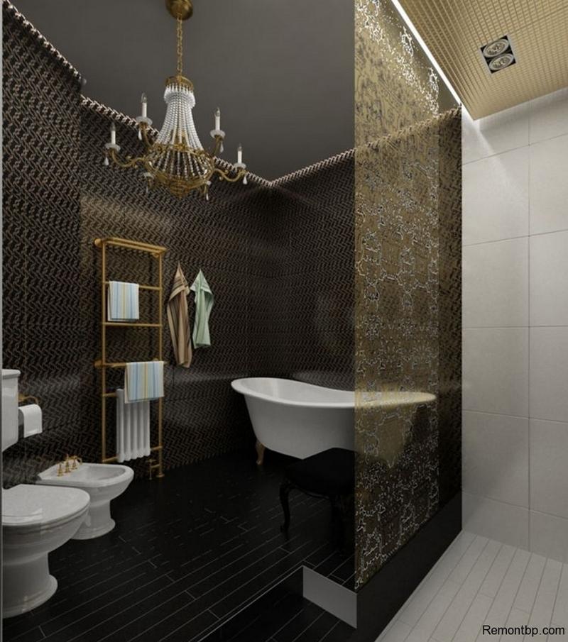 ванная комната - стиль арт-деко 3