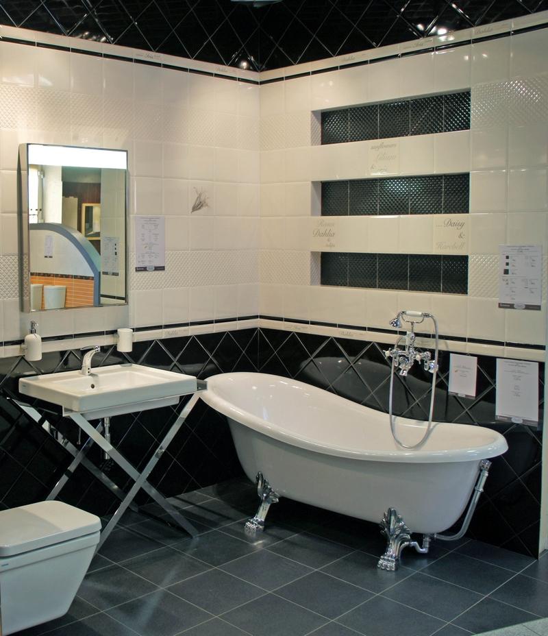 ванная комната - стиль арт-деко 4