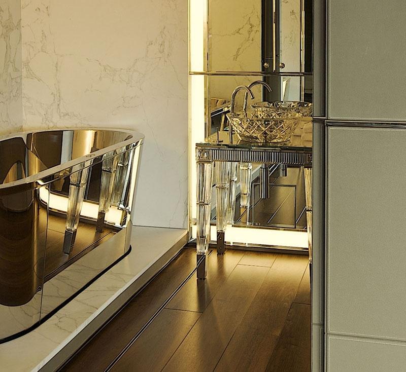 ванная комната - стиль арт-деко 5