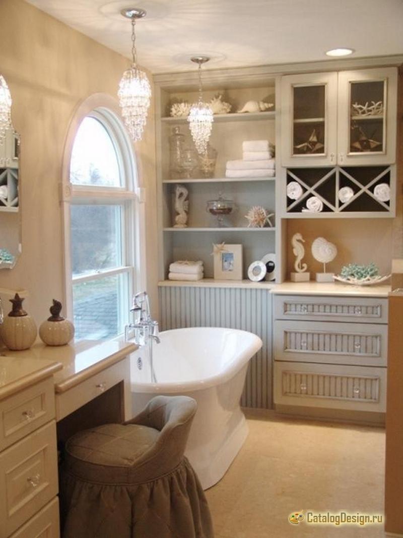 ванная комната - стиль кантри 4
