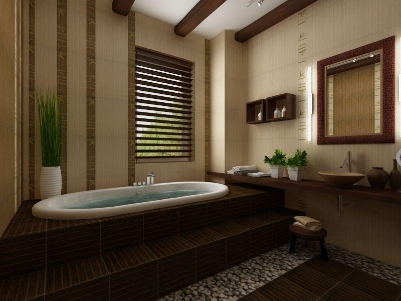 ванная комната - стиль народные мотивы 1