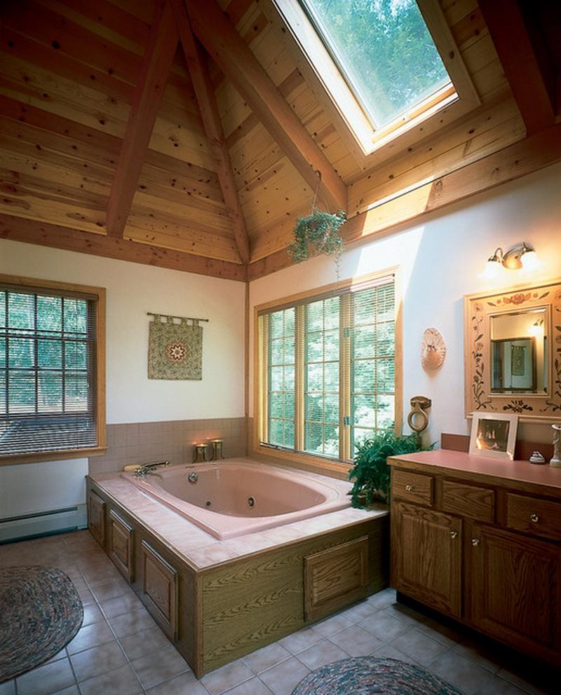 ванная комната - стиль народные мотивы 2