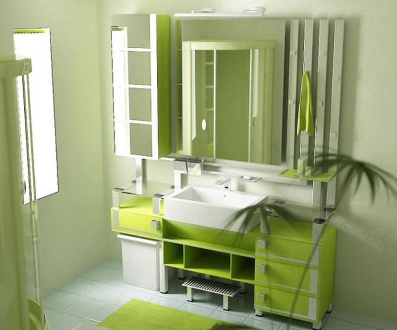 ванная комната - стиль народные мотивы 5