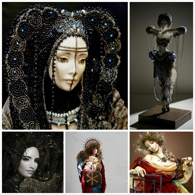 Куклы авторской работы от Александры Худяковой