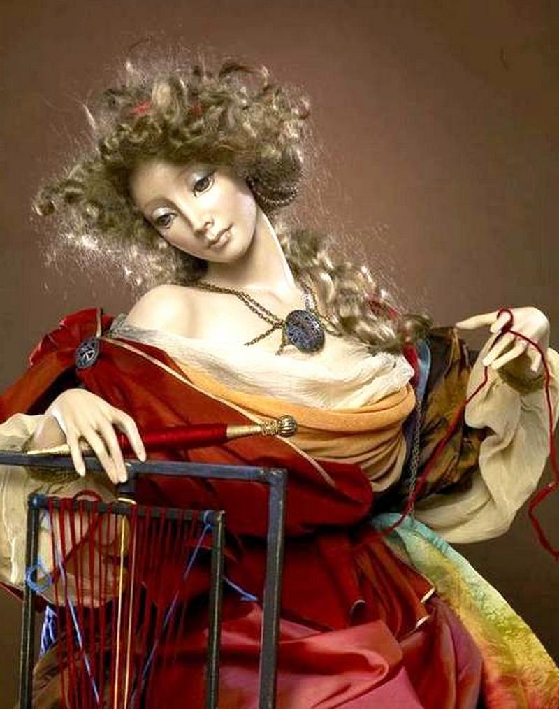 Куклы авторской работы от Александры Худяковой 12