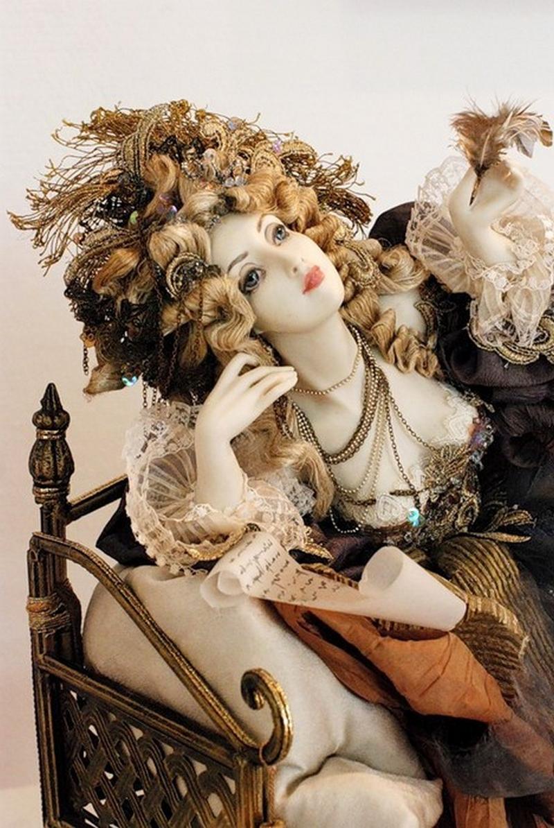 Куклы авторской работы от Александры Худяковой 25