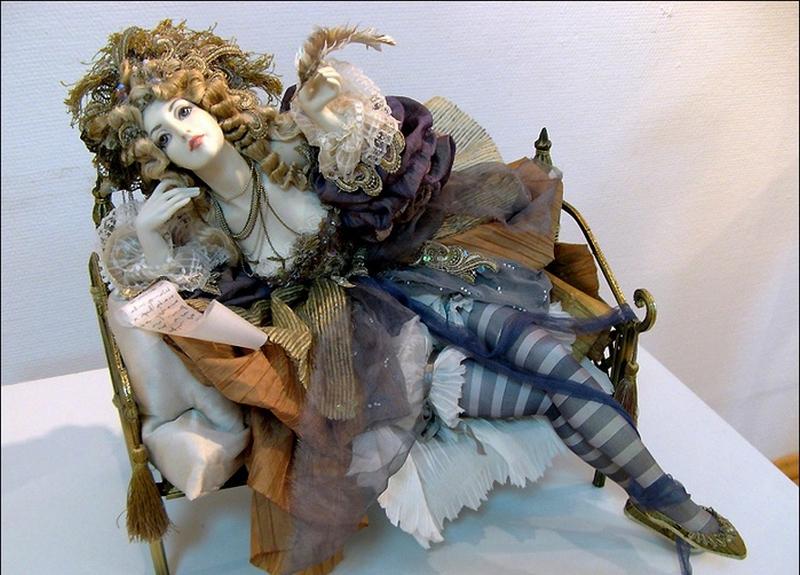 Куклы авторской работы от Александры Худяковой 33