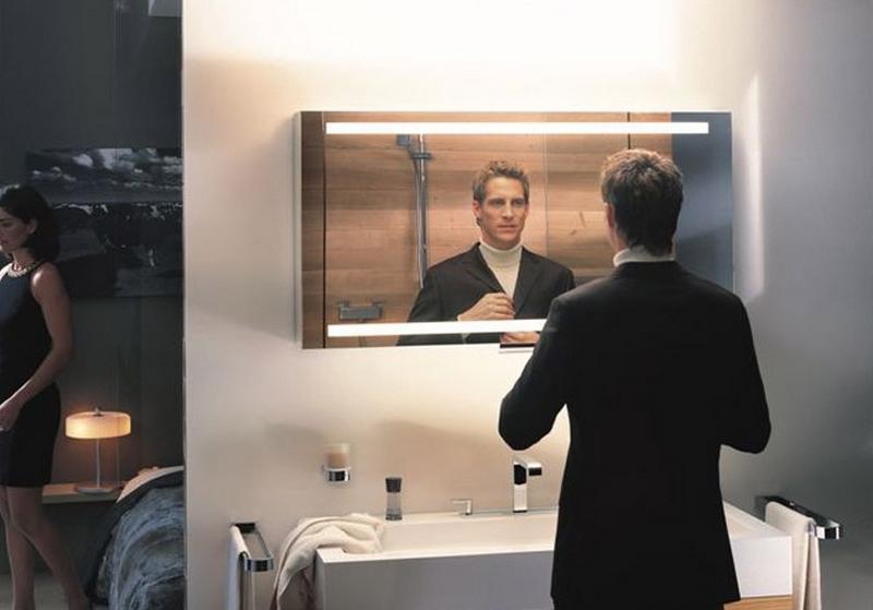 зеркальный шкаф для ванной 1