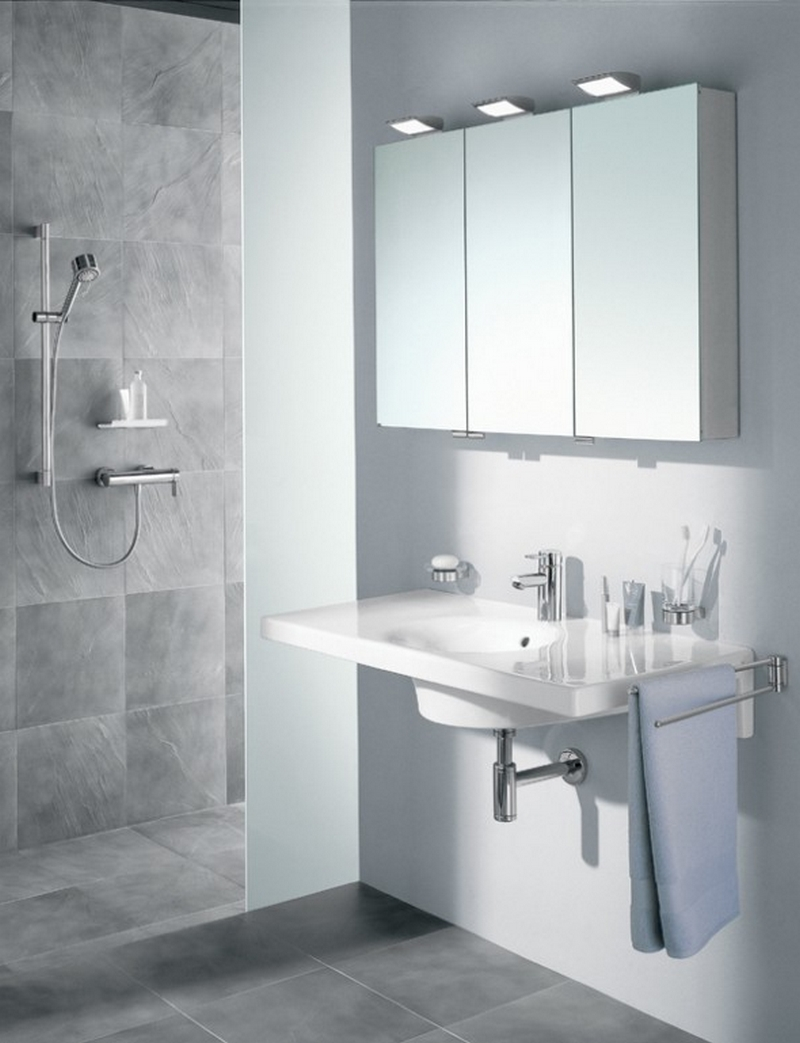 зеркальный шкаф для ванной 2