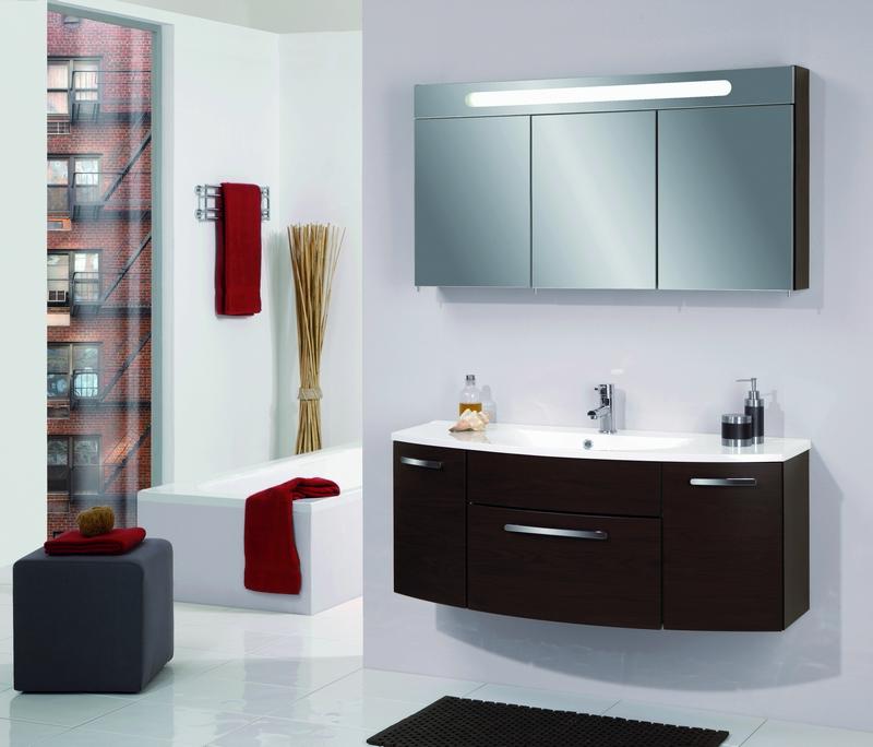 зеркальный шкаф для ванной 10
