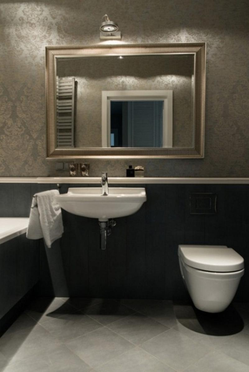 зеркальный шкаф для ванной 11