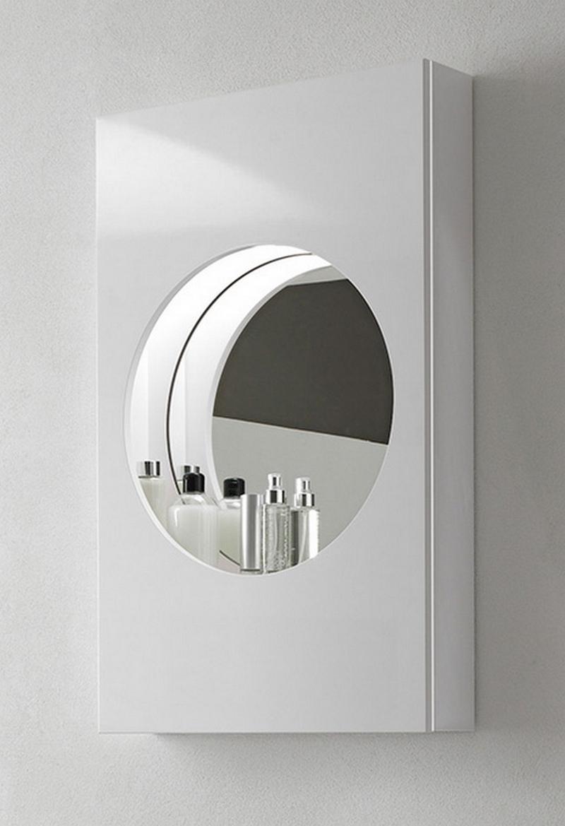 зеркальный шкаф для ванной 12