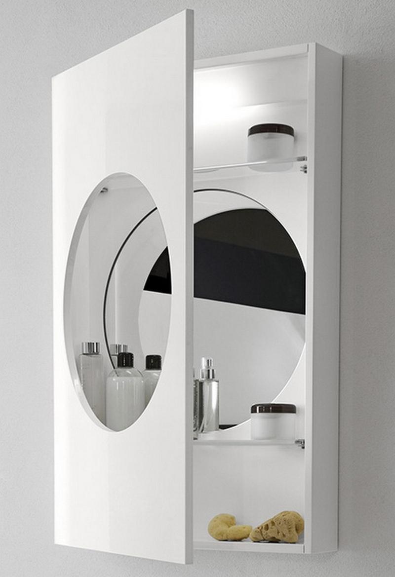 зеркальный шкаф для ванной 14