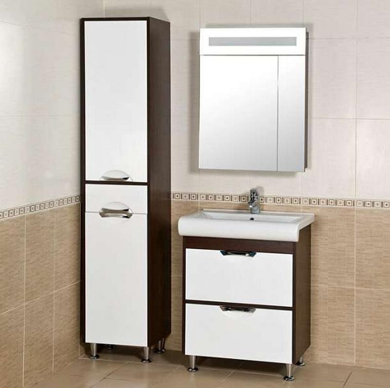 зеркальный шкаф для ванной 16