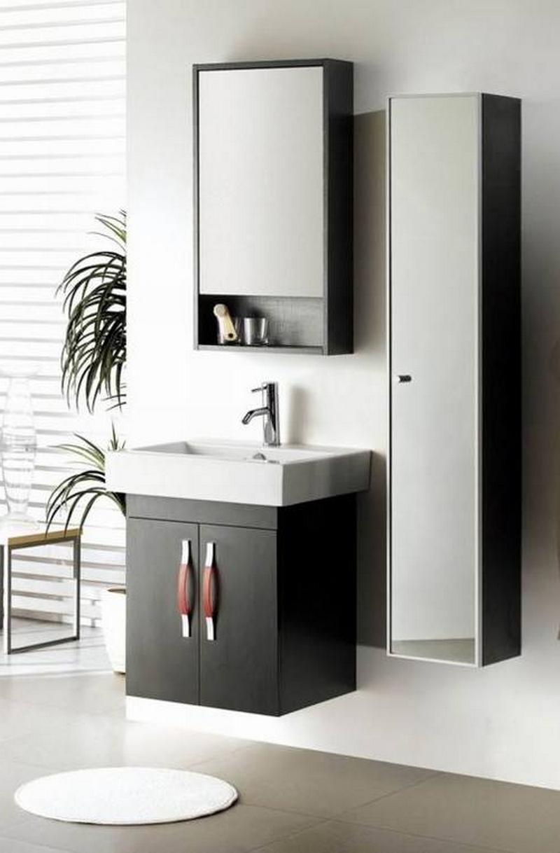 зеркальный шкаф для ванной 17