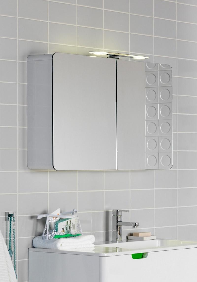 зеркальный шкаф для ванной 19