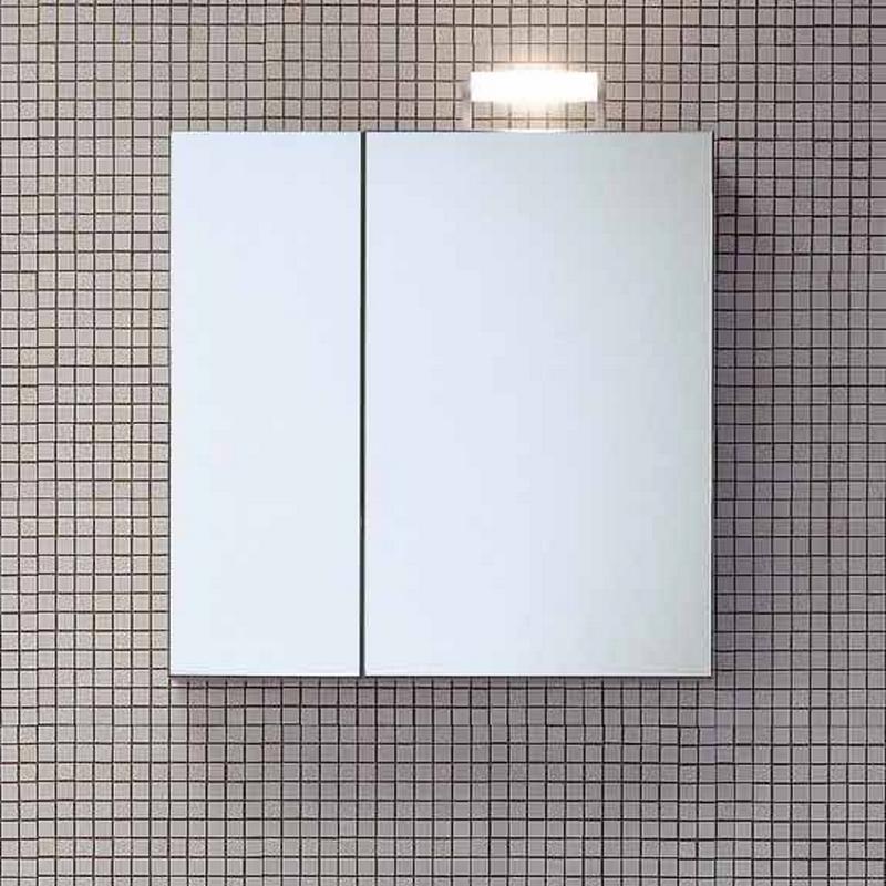 зеркальный шкаф для ванной 22