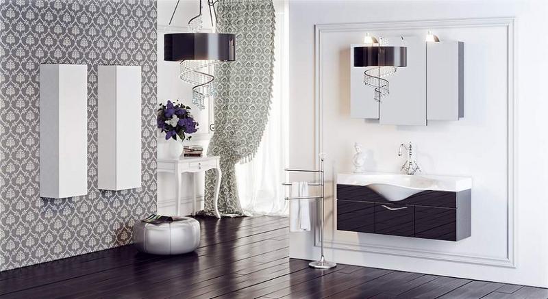 зеркальный шкаф для ванной 26