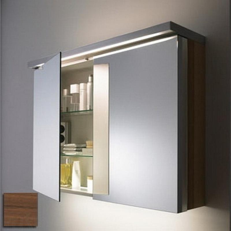 зеркальный шкаф для ванной 27