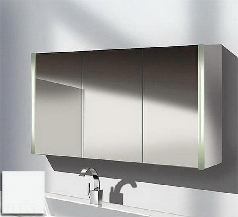 зеркальный шкаф для ванной 28