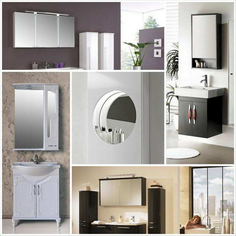 Чем руководствоваться при выборе зеркального шкафа для ванной