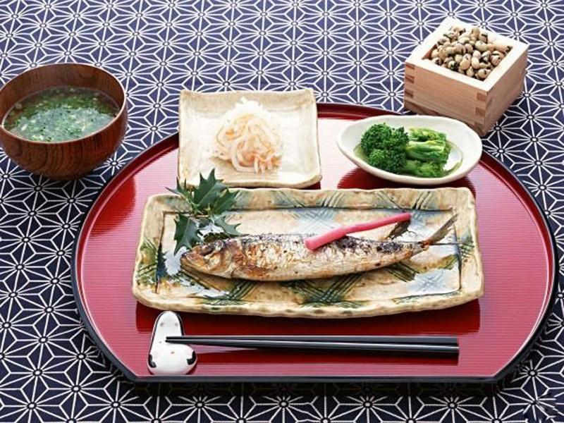 Оригинальный интерьер кухни в японском стиле 5