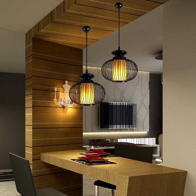 Оригинальный интерьер кухни в японском стиле 14