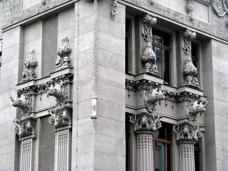 Основные достопримечательности Киева в фотографиях House-with-Chimeras3
