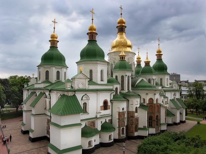 Основные достопримечательности Киева в фотографиях Sophia-Cathedral