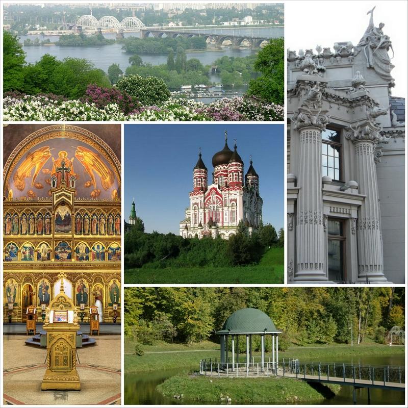 Основные достопримечательности Киева в фотографиях