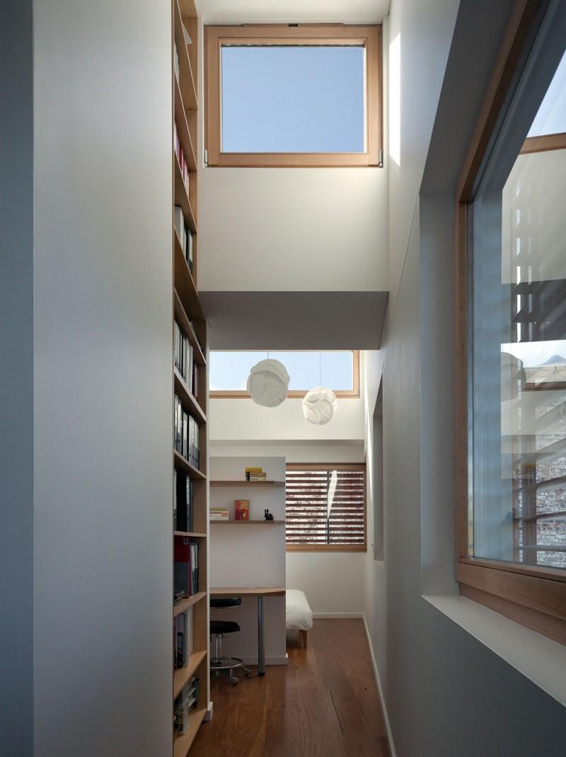 Дизайн коттеджа в современном стиле вдалеке от городской суеты 16