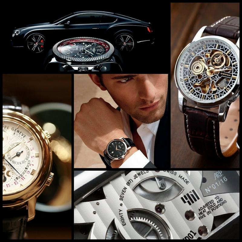 Хорошие мужские часы - это имидж и респектабельность