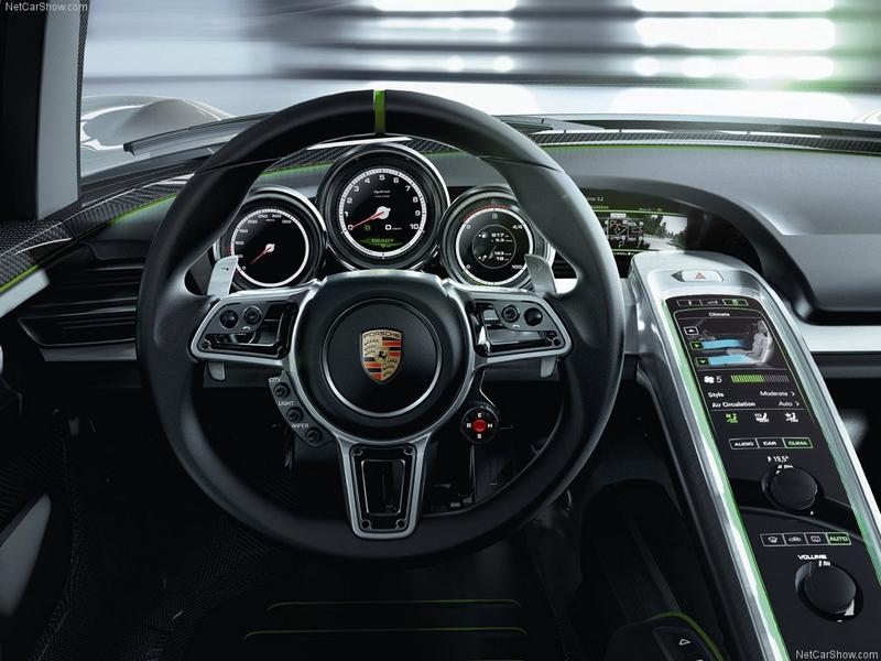 Красивые фото Porsche 918 Spyder 4