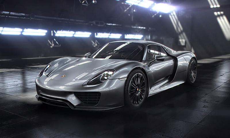 Красивые фото Porsche 918 Spyder 6
