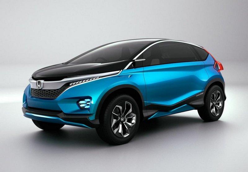 Модный концепт-кар Honda Vision XS-1 1