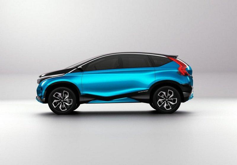 Модный концепт-кар Honda Vision XS-1 2