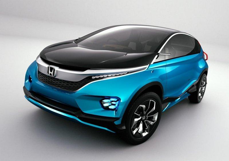 Модный концепт-кар Honda Vision XS-1 3