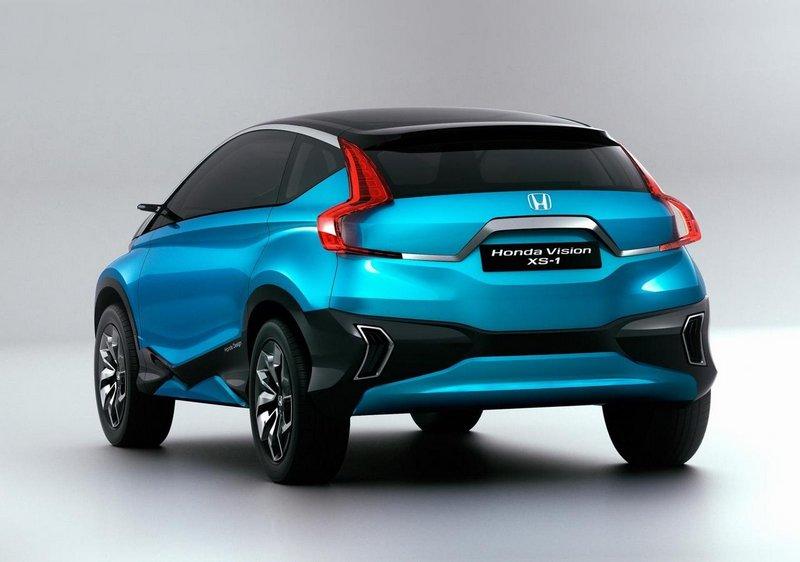 Модный концепт-кар Honda Vision XS-1 5