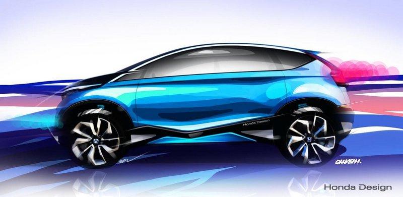 Модный концепт-кар Honda Vision XS-1 9