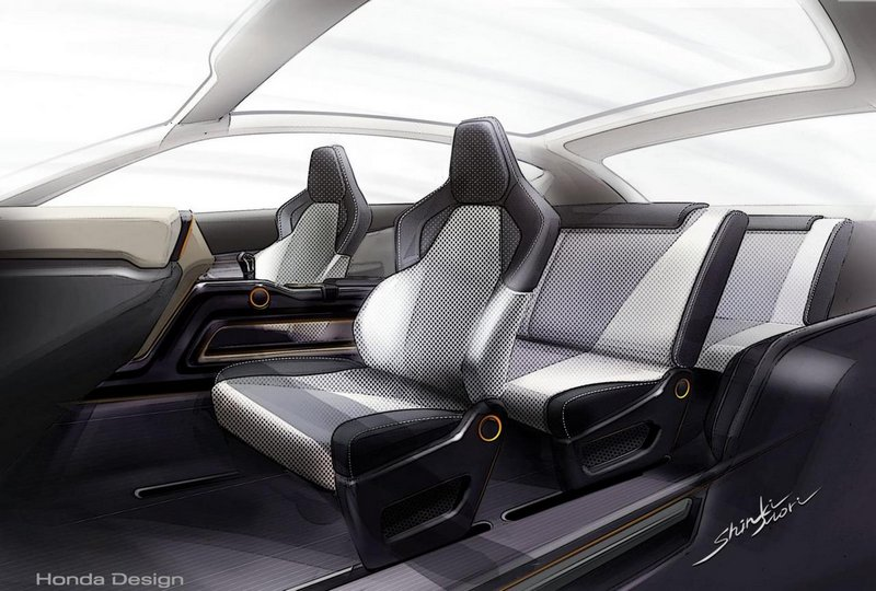 Модный концепт-кар Honda Vision XS-1 11