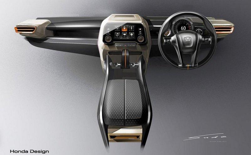 Модный концепт-кар Honda Vision XS-1 12
