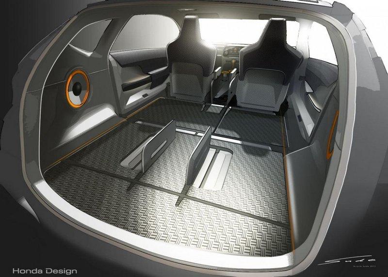 Модный концепт-кар Honda Vision XS-1 13