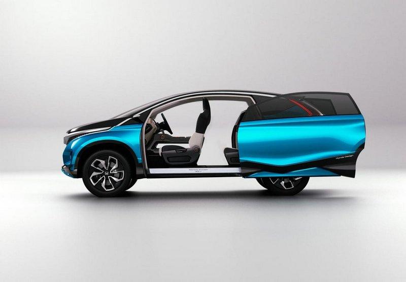 Модный концепт-кар Honda Vision XS-1 4