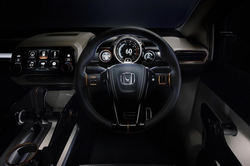 Модный концепт-кар Honda Vision XS-1 6