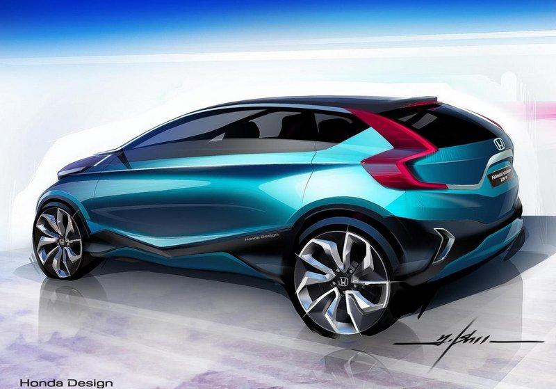 Модный концепт-кар Honda Vision XS-1 10