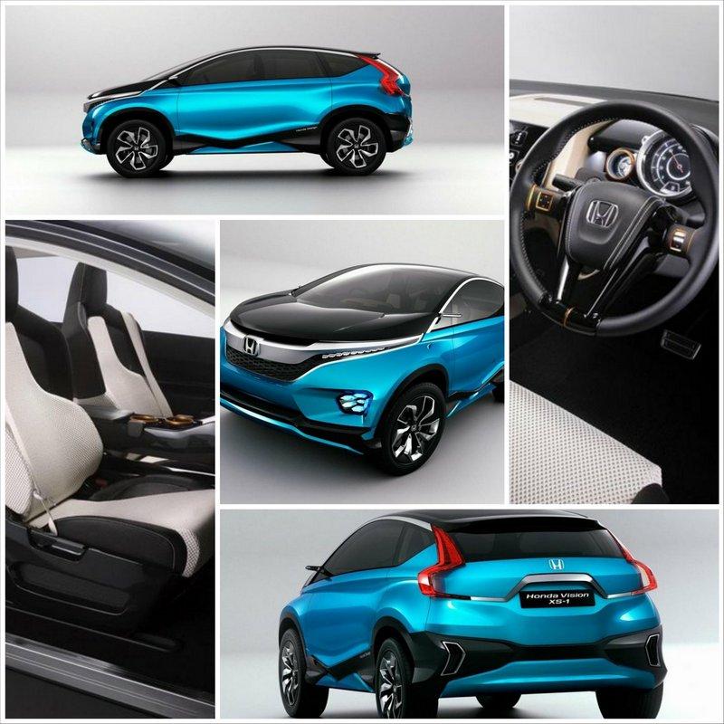 Модный концепт-кар Honda Vision XS-1