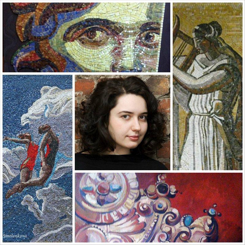 Художница Юлия Смоленкова - талант покоривший Европу