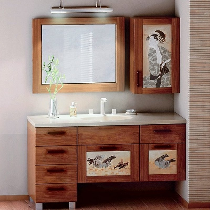 Мебель в ванную комнату - советы и рекомендации по выбору 4